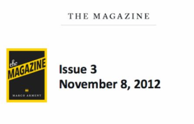 The Magazine:碎片化时代的深度阅读与电子杂志