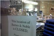 巴诺书店,以错误的方式说再见