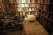 书店里放床  一半生意一半情