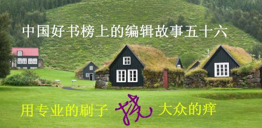 中国好书榜上的编辑故事五十六:用专业的刷子挠大众的痒