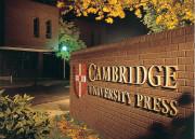 剑桥大学出版社年报动态:百年老店也感学术出版市场艰难