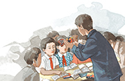 书博会上听周锐、沈石溪讲小时候   浙江人美社推名家名作画本系列