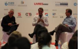 杜乐盟、程三国、吕迪格:我们不应该逃离纸书 我们也不应该把业务分为老的和新的——2016全球出版五十强峰会之CEO Talk