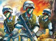 中国首部海军陆战题材少年军事小说——《海军陆战队》震撼上市!