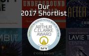 2017年亚瑟·C.克拉克科幻小说奖短名单公布