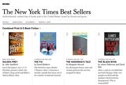 《纽约时报》瘦身畅销书榜——是否真对图书销量带来实质性影响?