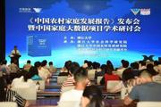 《中国农村家庭发展报告》近日发布,大数据反映农村家庭发展状况