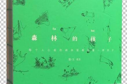 《森林的孩子》:一本文艺范儿十足的书——每一片叶子上都有一个故事