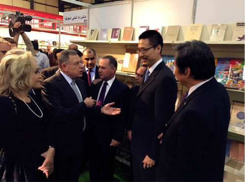 外研社作为中国出版企业唯一代表亮相贝鲁特国际书展