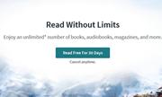 出版商为什么不喜欢在线阅读平台重返不限量订阅模式?