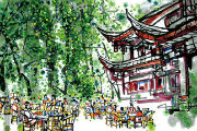 一本城市文化名片书,让你爱上成都这座城 ——四川人民出版社推出《如果我在成都等你》
