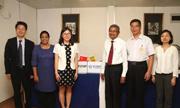 外研社与Sarasavi出版社在科伦坡书展举行签约仪式