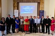 """山东教育社""""走出去""""迈出新一步——中国主题图书编辑部在罗马尼亚正式挂牌成立"""