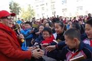 著名表演艺术家六小龄童携《行者》做客古城保定
