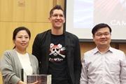 """""""海盗鼠""""作者、著名作家卡梅伦在京开启中国巡讲之旅"""
