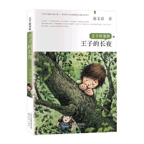 王子在夜里冒险,男孩在阅读中成长