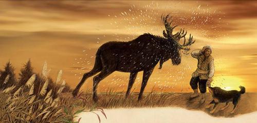 格日勒其木格·黑鹤与《鄂温克的驼鹿》入选2020 IBBY荣誉榜单