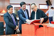 大型中华艺术图册《中国民艺馆》英文版合作出版签约仪式在京举行