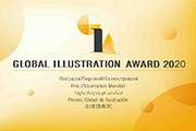 2020年第四届全球插画奖获奖名单公布,全球抗疫主题插画涌现