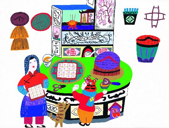 """""""金山农民画""""系列:以童真绘本展现华夏文化底蕴"""