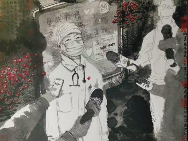 黑龙江美术家用180余幅画作描绘《战役》中的感人事迹