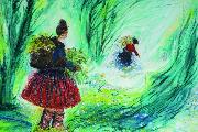 深耕广西大地,油画色彩描绘至美民族故事 ——《蓝花山 白森林》《蓝靛布 花衣裳》作者王勇英、责编张星华专访