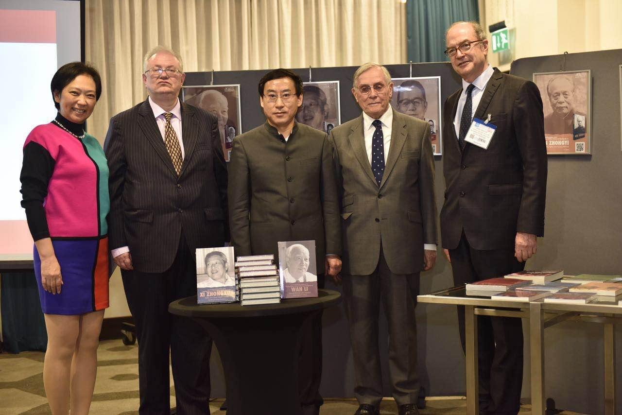 《改革开放元勋画传丛书》在伦敦首发,英语读者了解当代中国的窗口