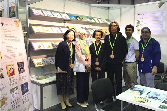 沙迦童书阅读节暨童书展拉开帷幕,接力出版社作为国内首家出版机构参展