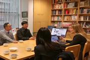 """推介优秀中国主题图书,中南传媒伦敦书展努力扩大国际业务及海外""""朋友圈"""""""
