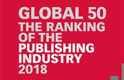 2018年全球出版50强排名今日全球同步出炉!