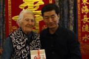 外研社为伊莎白教授举办人类学调查专著新书发布会暨103岁寿辰