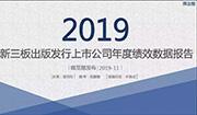 河南成�榘l行新三板最多省份――2019新三板出版�l行上市公司年度�效新�化