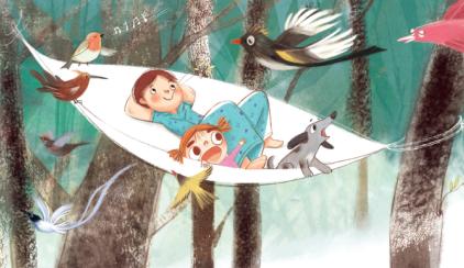 """给孩子上床睡觉带来诗意的""""理由""""  ――湘少社《床床书》中文版创作故事"""