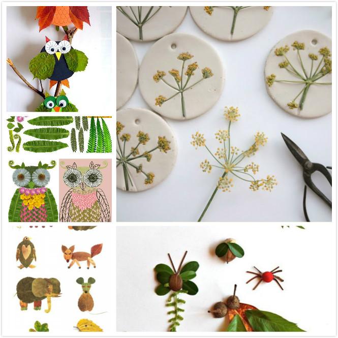 如何制作贴画自不必多言.植物贴画的好处是很环保,所用材料无非收
