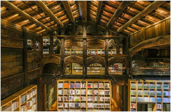 两层书店设计平面图